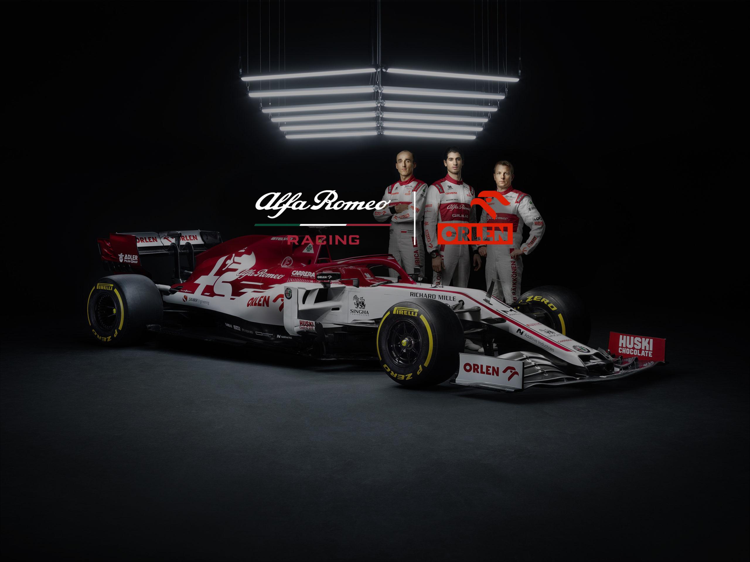EGV1 2020 collection Alfa Romeo racing Orlen